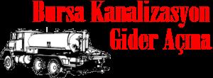 Bursa Kanalizasyon Gider Açma Tel: 0551 170 4605